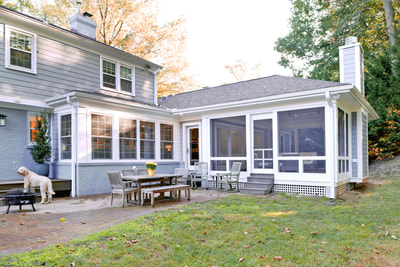 screened porch addition 1